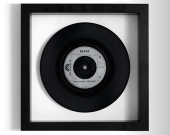 "Slade ""Merry Xmas Everybody"" Framed 7"" Vinyl Record"