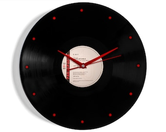 "EMF ""Unbelievable"" Vinyl Record Wall Clock"