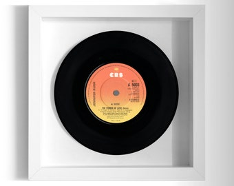 "Jennifer Rush ""The Power Of Love"" Framed 7"" Vinyl Record"