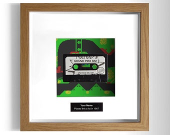 Grand Prix Simulator Framed ZX Spectrum Game