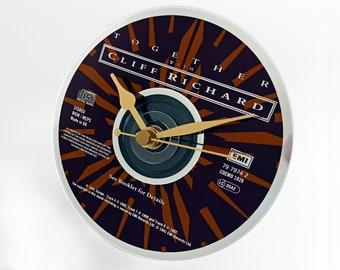 "Cliff Richard ""Together"" CD Clock and Keyring Gift Set"