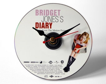 Bridget Jones's Diary Motion Picture CD Clock and Keyring Gift Set