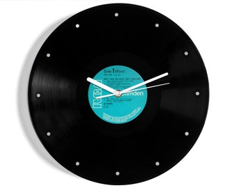 """Jim Reeves """"Have I Told You Lately That I Love You?"""" Vinyl Record Wall Clock"""