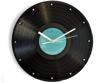"Perry Como ""Fly Me To The Moon"" Vinyl Record Wall Clock"