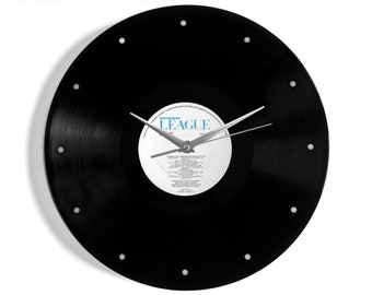 "Human League ""Dare"" Vinyl Record Wall Clock"
