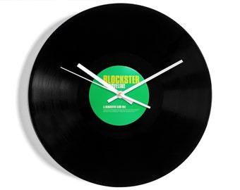 """Ministry Of Sound """"Blockster Grooveline"""" Vinyl Record Wall Clock"""
