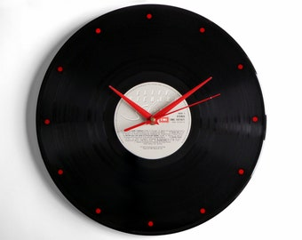 "Cliff Richard ""Silver"" Vinyl Record Wall Clock"