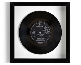"""Cliff Richard """"Congratulations"""" Framed 7"""" Vinyl Record"""