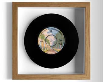 "Wizzard ""Marathon Man"" Framed 7"" Vinyl Record"
