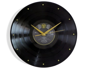 "Elton John ""Caribou"" Vinyl Record Wall Clock"