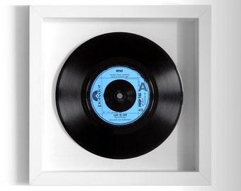 "Opus ""Live is Life"" Framed 7"" Vinyl Record"