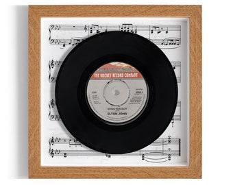 """Elton John """"Song For Guy"""" Framed 7"""" Vinyl Record"""
