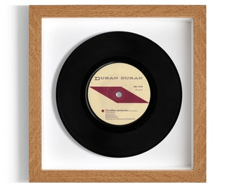 "Duran Duran ""Careless Memories"" Framed 7"" Vinyl Record"