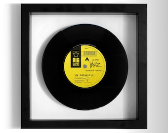 "Yazz ""The Only Way Is Up"" Framed 7"" Vinyl Record"