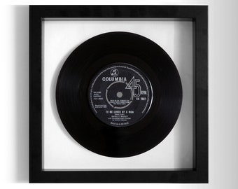 "Shirley Bassey ""To Be Loved By A Man"" Framed 7"" Vinyl Record"