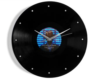 "Gary Numan ""White Boys And Heroes"" Vinyl Record Wall Clock"