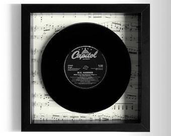 """M.C. Hammer """"Pray"""" Framed 7"""" Vinyl Record"""