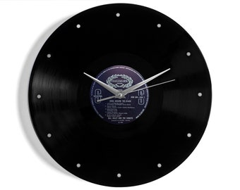 "Bill Haley And The Comets ""Rock Around The Clock"" Vinyl Record Wall Clock"