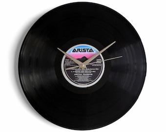 "Aretha Franklin ""A Deeper Love"" Vinyl Record Wall Clock"