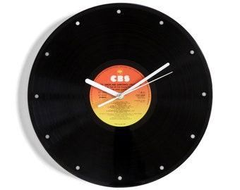 "Simon and Garfunkel ""The Collection"" Vinyl Record Wall Clock"