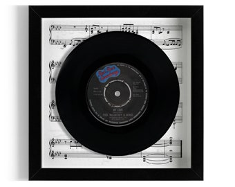 "Paul McCartney & Wings ""My Love"" Framed 7"" Vinyl Record"