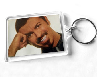 George Michael Keyring from CD Booklet
