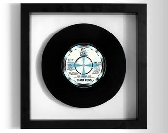 """Diana Ross """"I'm Coming Out"""" Framed 7"""" Vinyl Record"""