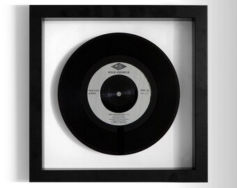 """Kylie Minogue """"The Loco-motion"""" Framed 7"""" Vinyl Record"""