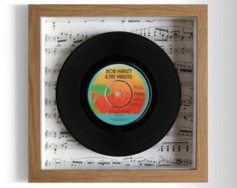 "Bob Marley & The Wailers ""Exodus"" Framed 7"" Vinyl Record"