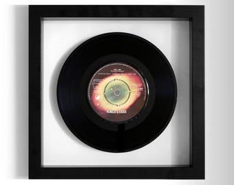 """Ringo Starr """"Call Me"""" Framed 7"""" Vinyl Record"""