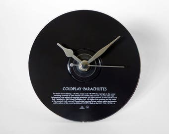 "Coldplay ""Parachutes"" CD Clock and Keyring Gift Set"