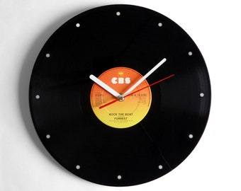 """Forrest """"Rock The Boat"""" Vinyl Record Wall Clock"""