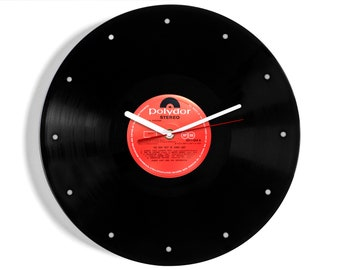 "James Last ""The Very Best Of"" Vinyl Record Wall Clock"