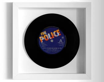 """The Police """"Don't Stand So Close To Me"""" Framed 7"""" Vinyl Record"""