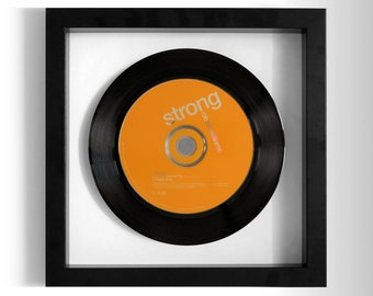 "Robbie Williams ""Strong"" Framed CD"