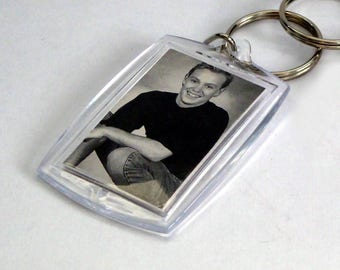 Jason Donovan Keyring from Vintage Vinyl Record Sleeves