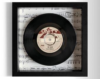 "Max Romeo ""Wet Dream"" Framed 7"" Vinyl Record"