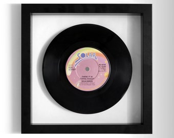 """Shalamar """"There It Is"""" Framed 7"""" Vinyl Record"""