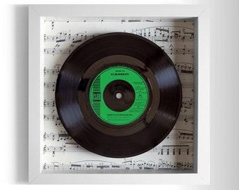 """Cameo """"She's Strange"""" Framed 7"""" Vinyl Record"""