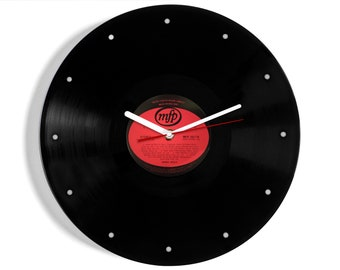 "Buddy Holly ""Rave On"" Vinyl Record Wall Clock"