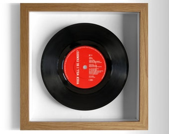 "Bros ""When Will I Be Famous?"" Framed 7"" Vinyl Record"