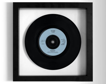 "Wham! ""Freedom"" Framed 7"" Vinyl Record"