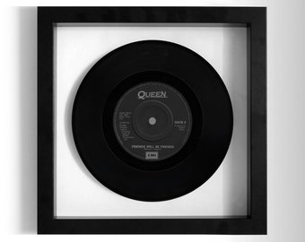 "Queen ""Friends Will Be Friends"" Framed 7"" Vinyl Record"