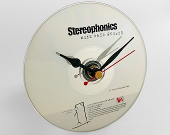 """Stereophonics """"Word Gets Around"""" CD Clock and Keyring Gift Set"""