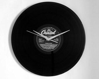 "Tina Turner ""Foreign Affair"" Vinyl Record Wall Clock"
