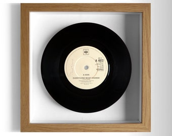 "Paul Young ""Everything Must Change"" Framed 7"" Vinyl Record"