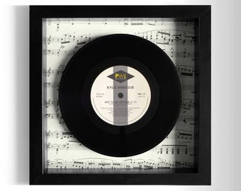 "Kylie Minogue ""Got To Be Certain"" Framed 7"" Vinyl Record"