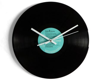 "The Everly Brothers ""Exciting ..."" Vinyl Record Wall Clock"