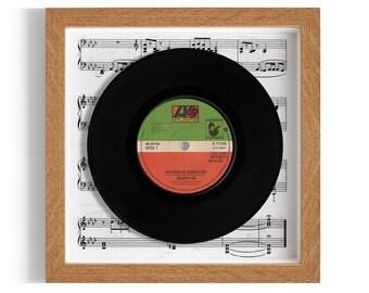 """Boney M """"Rivers Of Babylon"""" Framed 7"""" Vinyl Record"""