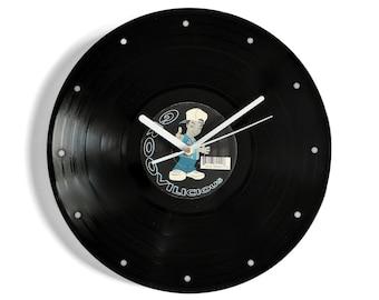 Groovilicious Vinyl Record Wall Clock